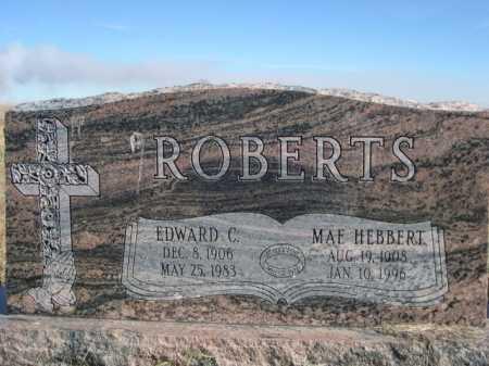 HEBBERT ROBERTS, MAE - Dawes County, Nebraska | MAE HEBBERT ROBERTS - Nebraska Gravestone Photos