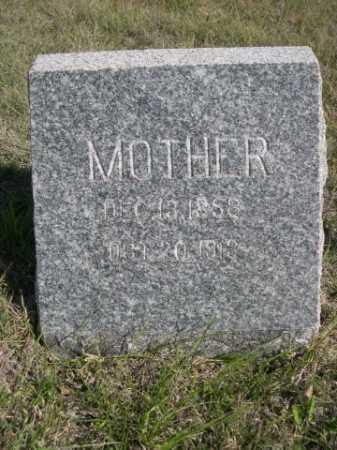 ROBERTS, MOTHER - Dawes County, Nebraska | MOTHER ROBERTS - Nebraska Gravestone Photos