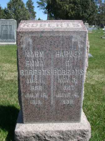 ROBERTS, HARVEY G. - Dawes County, Nebraska | HARVEY G. ROBERTS - Nebraska Gravestone Photos