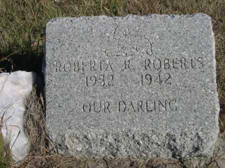 ROBERTS, ROBERTA R. - Dawes County, Nebraska | ROBERTA R. ROBERTS - Nebraska Gravestone Photos