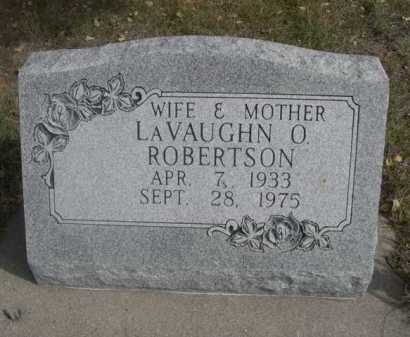 ROBERTSON, LAVAUGHN O. - Dawes County, Nebraska   LAVAUGHN O. ROBERTSON - Nebraska Gravestone Photos