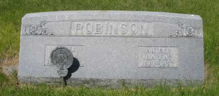 ROBINSON, IDA FAY - Dawes County, Nebraska | IDA FAY ROBINSON - Nebraska Gravestone Photos