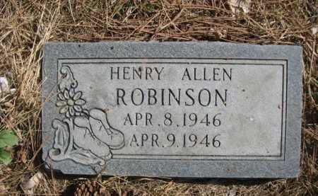 ROBINSON, HENRY ALLEN - Dawes County, Nebraska | HENRY ALLEN ROBINSON - Nebraska Gravestone Photos