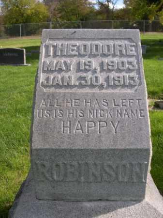 ROBINSON, THEODORE - Dawes County, Nebraska   THEODORE ROBINSON - Nebraska Gravestone Photos