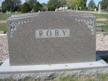 ROBY, FAMILY - Dawes County, Nebraska | FAMILY ROBY - Nebraska Gravestone Photos