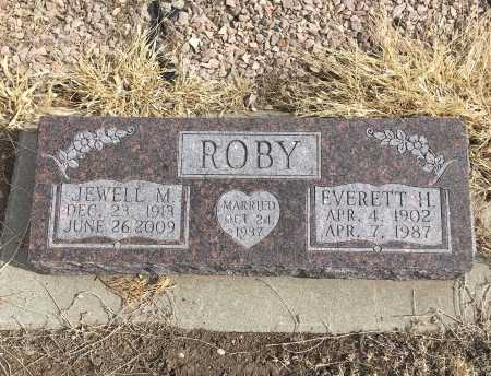 ROBY, EVERETT H. - Dawes County, Nebraska | EVERETT H. ROBY - Nebraska Gravestone Photos