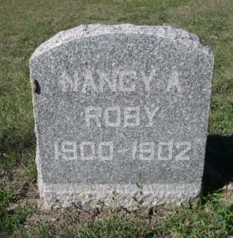 ROBY, NANCY A. - Dawes County, Nebraska | NANCY A. ROBY - Nebraska Gravestone Photos