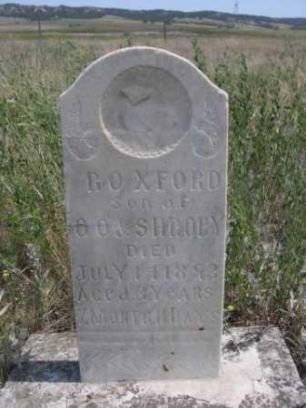 ROBY, ROXFORD - Dawes County, Nebraska   ROXFORD ROBY - Nebraska Gravestone Photos