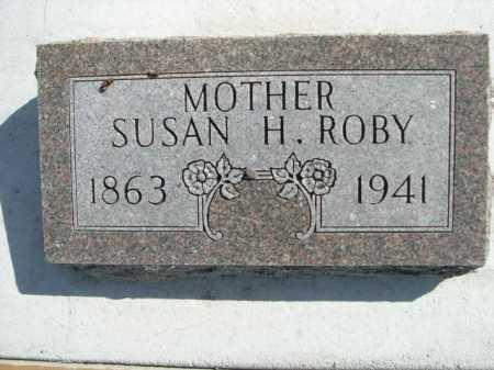 ROBY, SUSAN H. - Dawes County, Nebraska | SUSAN H. ROBY - Nebraska Gravestone Photos