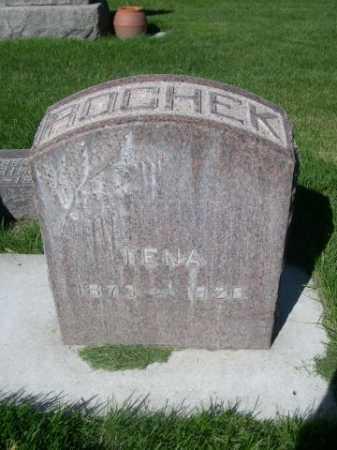 ROCHEK, TENA - Dawes County, Nebraska | TENA ROCHEK - Nebraska Gravestone Photos