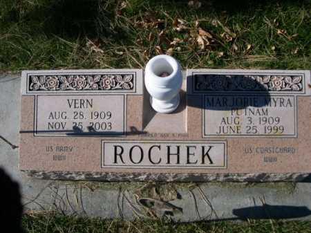 ROCHEK, MARJORIE MYRA - Dawes County, Nebraska | MARJORIE MYRA ROCHEK - Nebraska Gravestone Photos