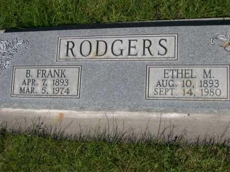RODGERS, ETHEL M. - Dawes County, Nebraska | ETHEL M. RODGERS - Nebraska Gravestone Photos