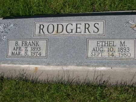 RODGERS, ETHEL M. - Dawes County, Nebraska | ETHEL M. RODGERS - Nebraska Gravestone Photos