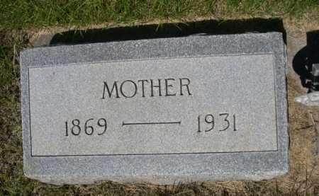 RODGERS, MOTHER - Dawes County, Nebraska   MOTHER RODGERS - Nebraska Gravestone Photos