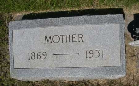 RODGERS, MOTHER - Dawes County, Nebraska | MOTHER RODGERS - Nebraska Gravestone Photos
