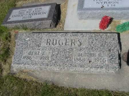 ROGERS, LENORA A. - Dawes County, Nebraska | LENORA A. ROGERS - Nebraska Gravestone Photos