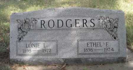 ROGERS, ETHEL E. - Dawes County, Nebraska | ETHEL E. ROGERS - Nebraska Gravestone Photos