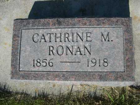 RONAN, CATHRINE M. - Dawes County, Nebraska | CATHRINE M. RONAN - Nebraska Gravestone Photos