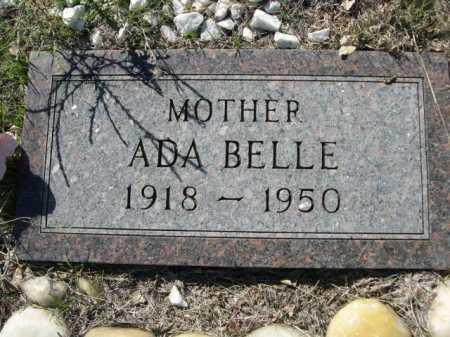 ROOS, ADA BELLE - Dawes County, Nebraska | ADA BELLE ROOS - Nebraska Gravestone Photos