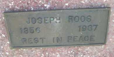 ROOS, JOSEPH - Dawes County, Nebraska | JOSEPH ROOS - Nebraska Gravestone Photos