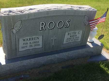WIRTH ROOS, RUTH C. - Dawes County, Nebraska | RUTH C. WIRTH ROOS - Nebraska Gravestone Photos