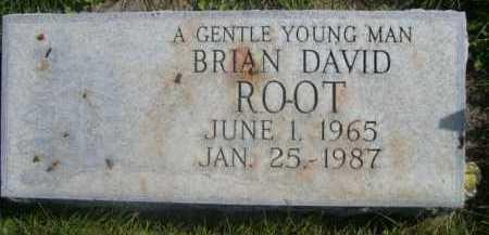 ROOT, BRIAN DAVID - Dawes County, Nebraska | BRIAN DAVID ROOT - Nebraska Gravestone Photos