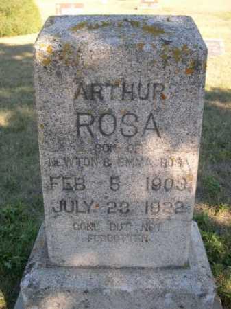 ROSA, ARTHUR - Dawes County, Nebraska | ARTHUR ROSA - Nebraska Gravestone Photos