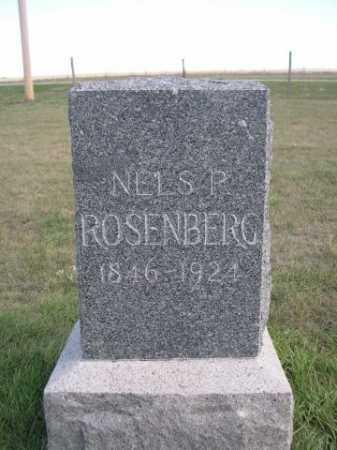 ROSENBERG, NELS P. - Dawes County, Nebraska | NELS P. ROSENBERG - Nebraska Gravestone Photos