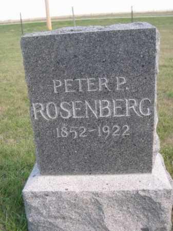 ROSENBERG, PETER P. - Dawes County, Nebraska | PETER P. ROSENBERG - Nebraska Gravestone Photos
