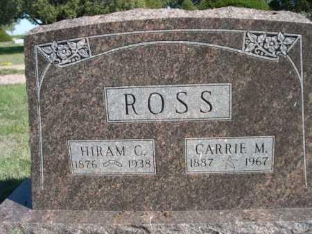 ROSS, CARRIE M. - Dawes County, Nebraska | CARRIE M. ROSS - Nebraska Gravestone Photos