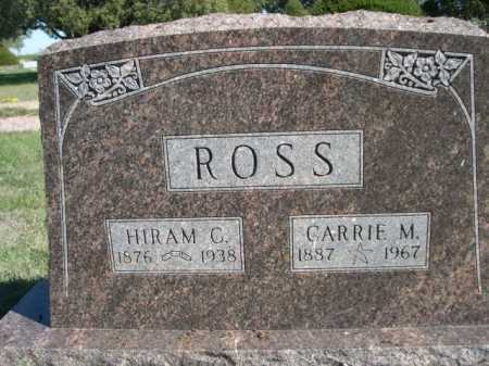 ROSS, CARRIE M. - Dawes County, Nebraska | CARRIE M. ROSS - Nebraska Gravestone Photos