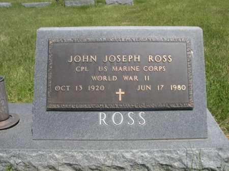 ROSS, JOHN JOSEPH - Dawes County, Nebraska | JOHN JOSEPH ROSS - Nebraska Gravestone Photos