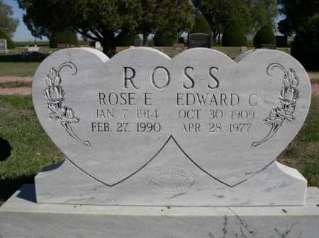 ROSS, ROSE E. - Dawes County, Nebraska | ROSE E. ROSS - Nebraska Gravestone Photos