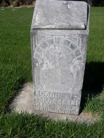 ROSSETER, EDSON - Dawes County, Nebraska   EDSON ROSSETER - Nebraska Gravestone Photos
