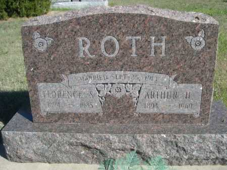 ROTH, FLORENCE S. - Dawes County, Nebraska | FLORENCE S. ROTH - Nebraska Gravestone Photos