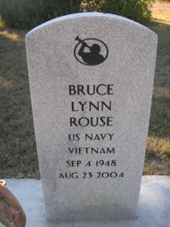 ROUSE, BRUCE LYNN - Dawes County, Nebraska   BRUCE LYNN ROUSE - Nebraska Gravestone Photos