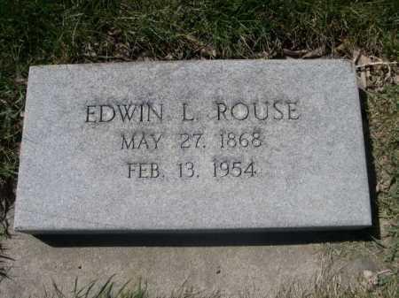 ROUSE, EDWIN L. - Dawes County, Nebraska | EDWIN L. ROUSE - Nebraska Gravestone Photos