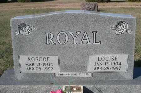ROYAL, LOUISE - Dawes County, Nebraska | LOUISE ROYAL - Nebraska Gravestone Photos