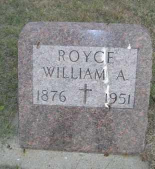 ROYCE, WILLIAM A. - Dawes County, Nebraska | WILLIAM A. ROYCE - Nebraska Gravestone Photos