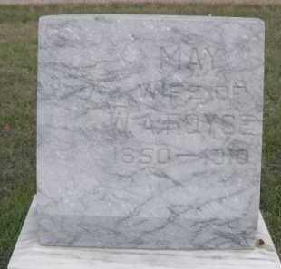 ROYSE, MAY - Dawes County, Nebraska | MAY ROYSE - Nebraska Gravestone Photos