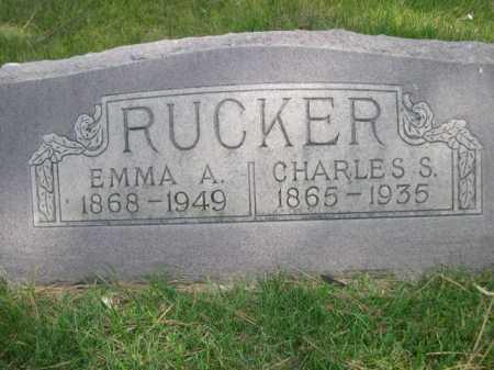 RUCKER, CHARLES S. - Dawes County, Nebraska | CHARLES S. RUCKER - Nebraska Gravestone Photos