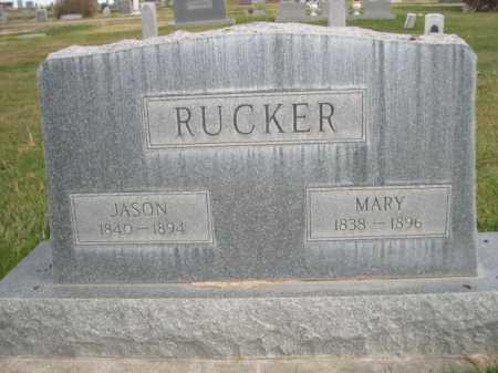 RUCKER, MARY - Dawes County, Nebraska | MARY RUCKER - Nebraska Gravestone Photos