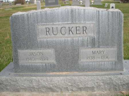 RUCKER, MARY - Dawes County, Nebraska | MARY RUCKER - Nebraska Gravestone Photos