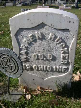 RUCKER, WARREN - Dawes County, Nebraska   WARREN RUCKER - Nebraska Gravestone Photos