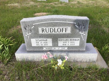 RUDLOFF, BERNARD HERMAN - Dawes County, Nebraska | BERNARD HERMAN RUDLOFF - Nebraska Gravestone Photos