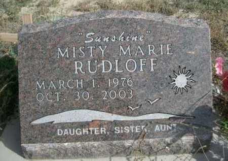 RUDOLFF, MISTY MARIE - Dawes County, Nebraska | MISTY MARIE RUDOLFF - Nebraska Gravestone Photos
