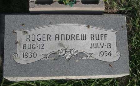 RUFF, ROGER ANDREW - Dawes County, Nebraska   ROGER ANDREW RUFF - Nebraska Gravestone Photos