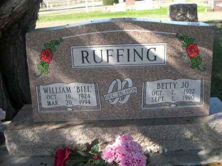 "RUFFING, WILLAIM ""BILL"" - Dawes County, Nebraska | WILLAIM ""BILL"" RUFFING - Nebraska Gravestone Photos"