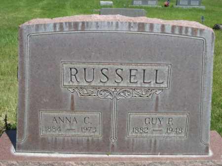RUSSELL, GUY P. - Dawes County, Nebraska   GUY P. RUSSELL - Nebraska Gravestone Photos