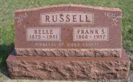 RUSSELL, FRANK S. - Dawes County, Nebraska | FRANK S. RUSSELL - Nebraska Gravestone Photos